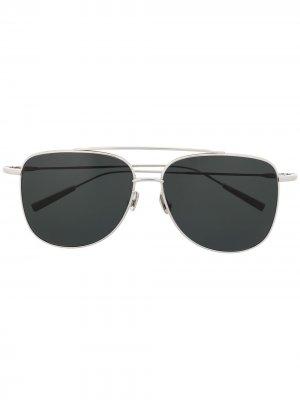 Солнцезащитные очки Edie AMBUSH. Цвет: серебристый