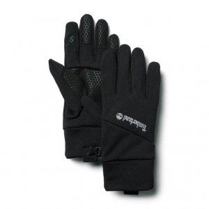Перчатки, варежки, муфты Stretch Colorblock Softshell Fleece Glove Timberland. Цвет: черный