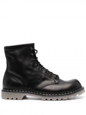 Ботинки Volanato на шнуровке Premiata. Цвет: черный