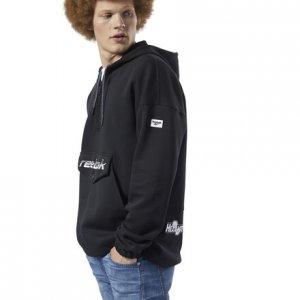 Пуловер Classics Advance Reebok. Цвет: black