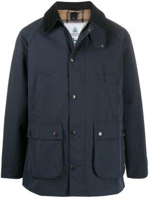Легкая куртка Ashby Barbour. Цвет: синий