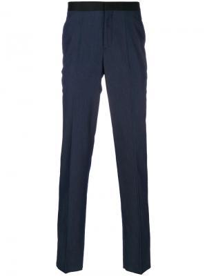Классические брюки Neil Barrett. Цвет: синий