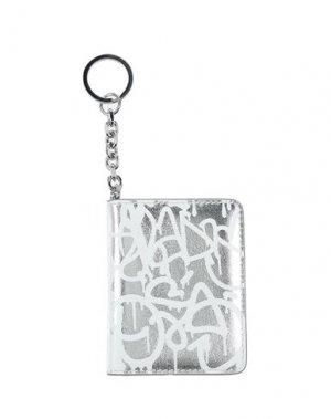 Брелок для ключей MAISON MARGIELA. Цвет: серебристый