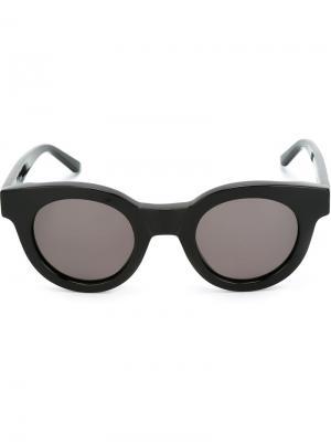 Солнцезащитные очки Type 02 Sun Buddies. Цвет: чёрный