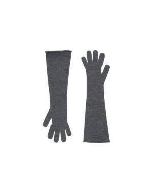 Перчатки ERIKA CAVALLINI. Цвет: серый