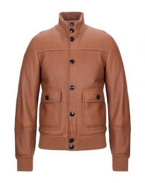 Куртка DACUTE. Цвет: коричневый