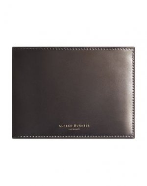 Бумажник DUNHILL. Цвет: серый