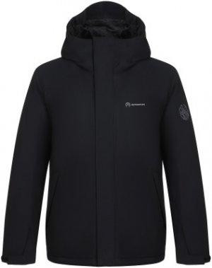 Куртка утепленная мужская , размер 58 Outventure. Цвет: черный