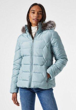 Куртка утепленная Dorothy Perkins. Цвет: голубой