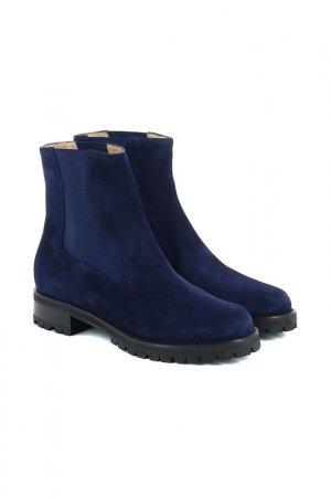 Ботинки LERRE. Цвет: синий