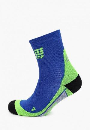 Носки CEP Ankle Socks C10. Цвет: синий