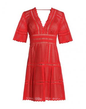 Короткое платье CATHERINE DEANE. Цвет: красный