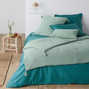 Одеяло LaRedoute. Цвет: синий