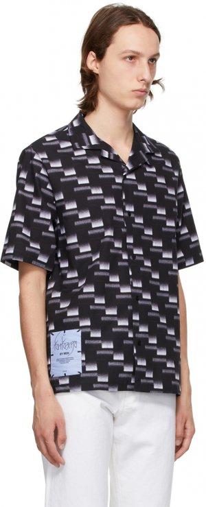 Black Yoke Casual Shirt MCQ. Цвет: 1247 carbon