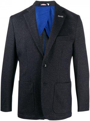 Однобортный пиджак Sun 68. Цвет: синий