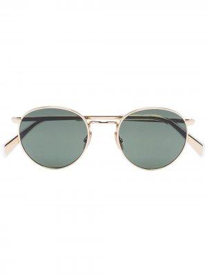 Солнцезащитные очки в круглой оправе Celine Eyewear. Цвет: 8234555