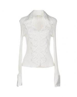 Pубашка BLANC NATURE. Цвет: белый