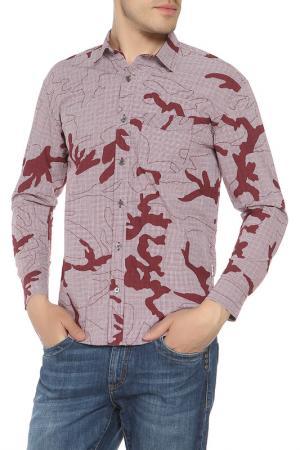 Рубашка CARHARTT. Цвет: красный