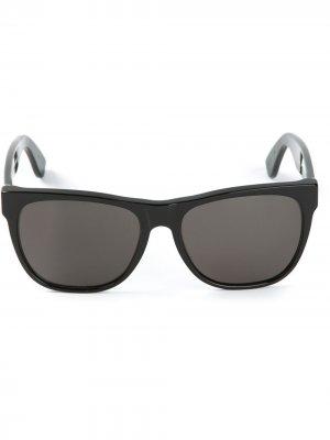 Солнцезащитные очки Classic Retrosuperfuture. Цвет: черный