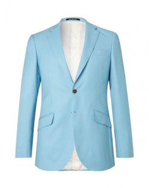 Пиджак RICHARD JAMES. Цвет: небесно-голубой