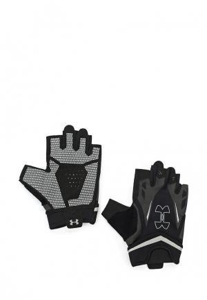 Перчатки для фитнеса Under Armour UA Flux Half-Finger Training Gloves. Цвет: черный