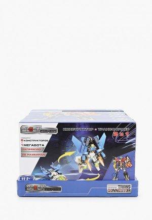 Конструктор 1Toy Blockformers Transconnector Мегатрансфайтер. Цвет: разноцветный