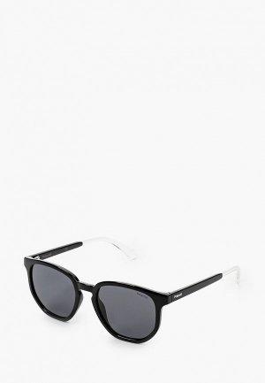 Очки солнцезащитные Polaroid Lamoda 10 Exclusive, PLD 2095/S 807. Цвет: черный