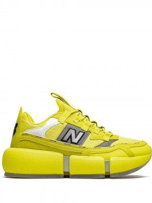 Кроссовки Vision Racer New Balance. Цвет: желтый
