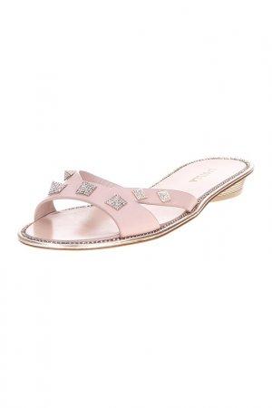 Сабо Le Silla. Цвет: розовый