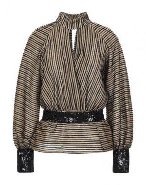Блузка CRISTINAEFFE. Цвет: песочный