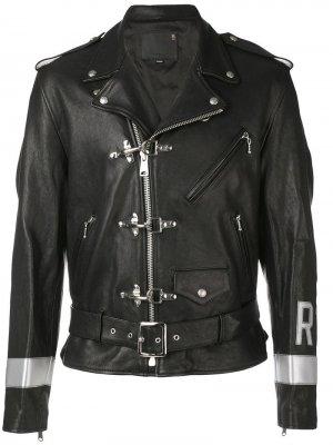 46d7a9e1f9f5 Байкерская куртка Brooklyn USA