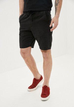 Шорты джинсовые Tezenis. Цвет: черный