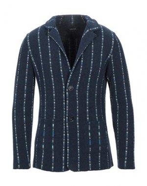 Пиджак ALBARENA. Цвет: темно-синий