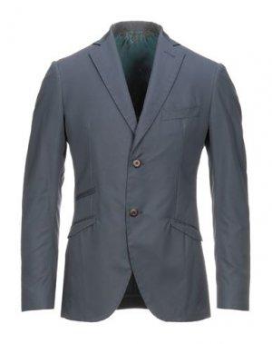 Пиджак MAURIZIO MIRI. Цвет: грифельно-синий