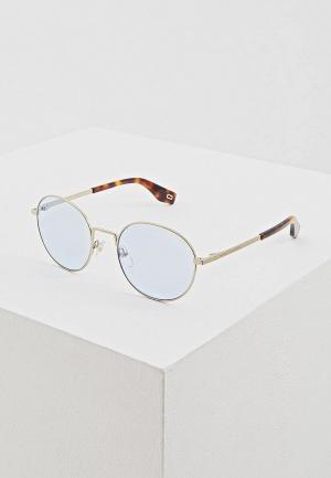 Очки солнцезащитные Marc Jacobs 272/S MVU. Цвет: золотой