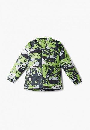 Куртка утепленная Kuoma. Цвет: зеленый