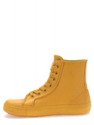 Резиновые ботинки Keddo. Цвет: желтый