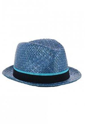 Шляпа PAUL SMITH. Цвет: голубой