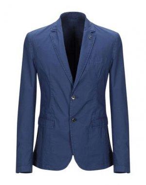Пиджак TRUSSARDI JEANS. Цвет: грифельно-синий