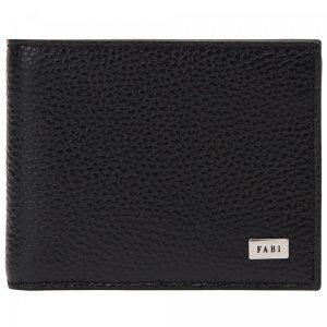 Бумажник Fabi. Цвет: чёрный