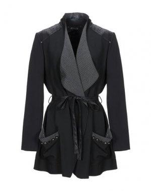 Легкое пальто 22 MAGGIO by MARIA GRAZIA SEVERI. Цвет: черный