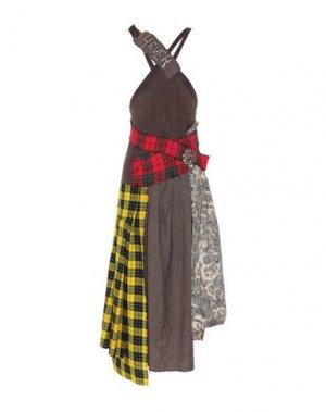 Платье до колена B2. Цвет: коричневый