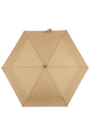 Зонт супер-автомат Flioraj. Цвет: бежевый