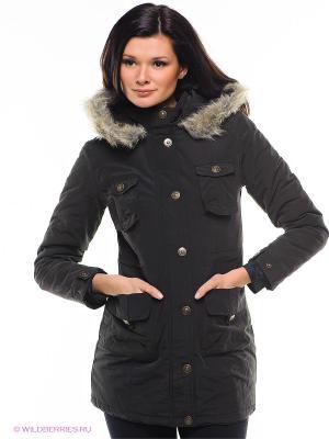 Пальто FLG FLASHLIGHTS. Цвет: черный