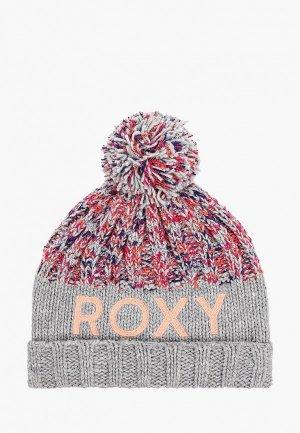 Шапка Roxy ALYESKA G BNIE  HDWR. Цвет: серый