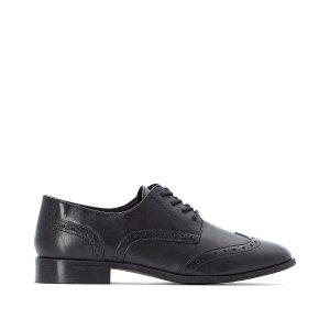Ботинки-дерби LaRedoute. Цвет: черный
