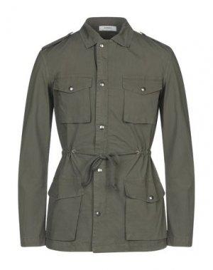 Легкое пальто ALPHA STUDIO. Цвет: зеленый-милитари