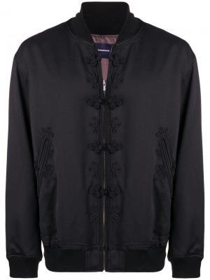 Куртка-бомбер с декором John Undercover. Цвет: черный