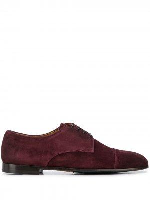 Doucals оксфорды с миндалевидным носком Doucal's. Цвет: фиолетовый