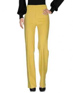 Повседневные брюки ANNARITA N. Цвет: желтый